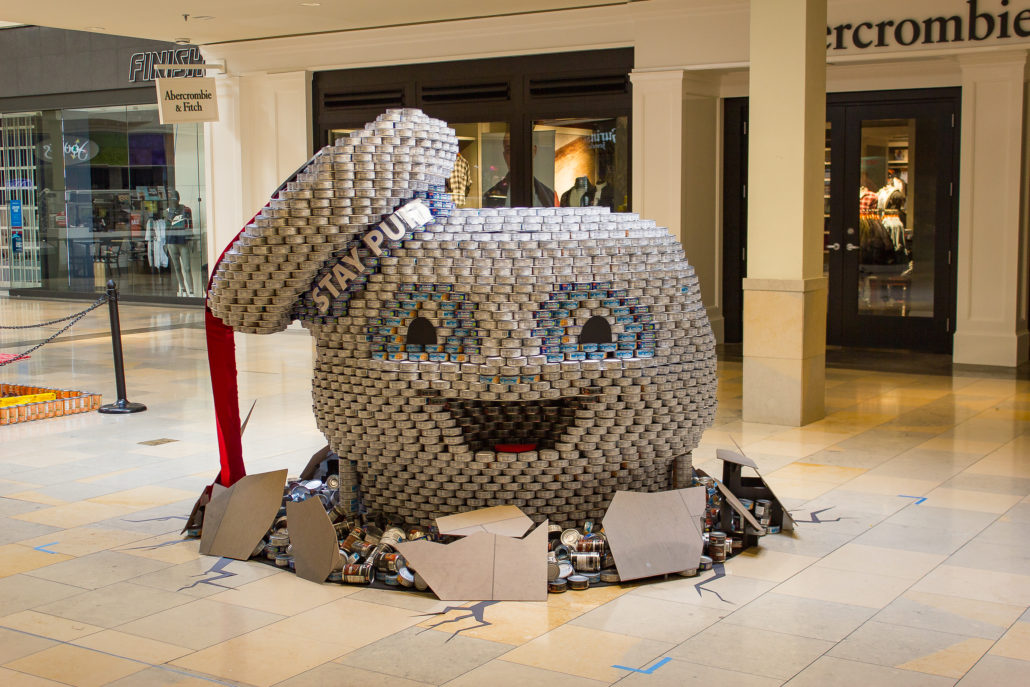 Canstruction 174 Aia San Antonio