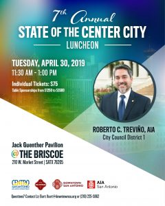 Center of the City Luncheon @ The Briscoe